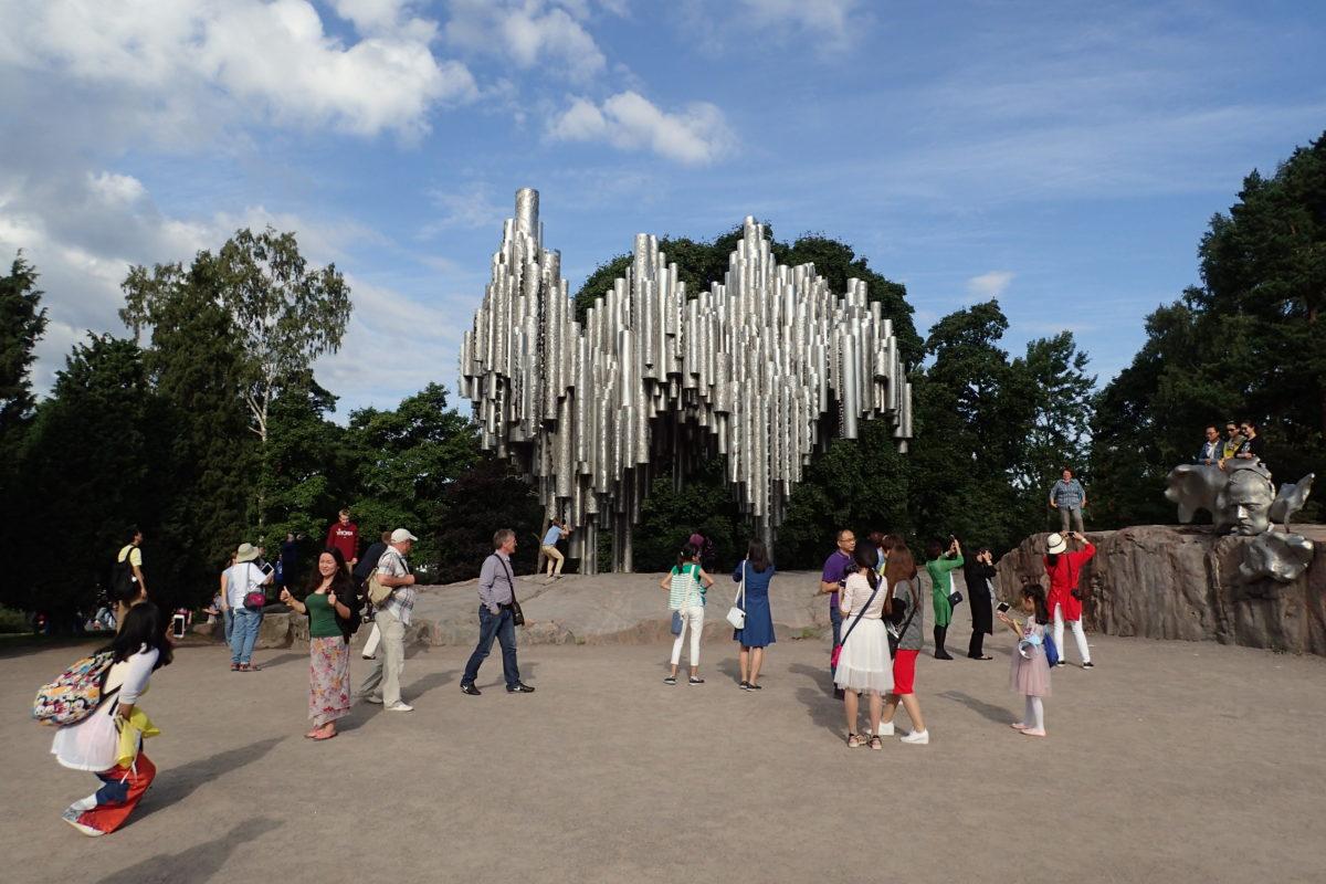 Monument a Sibelius a Oslo