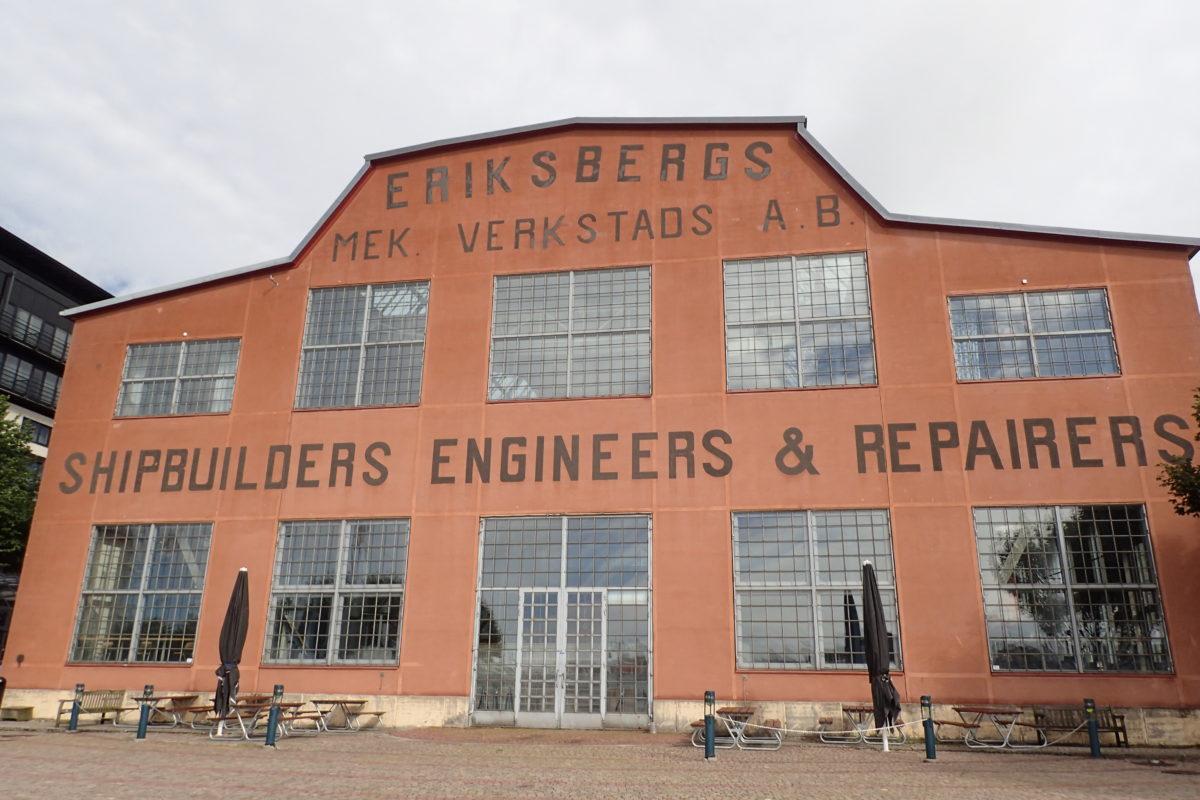 Edifici industrial d'Eriksberg