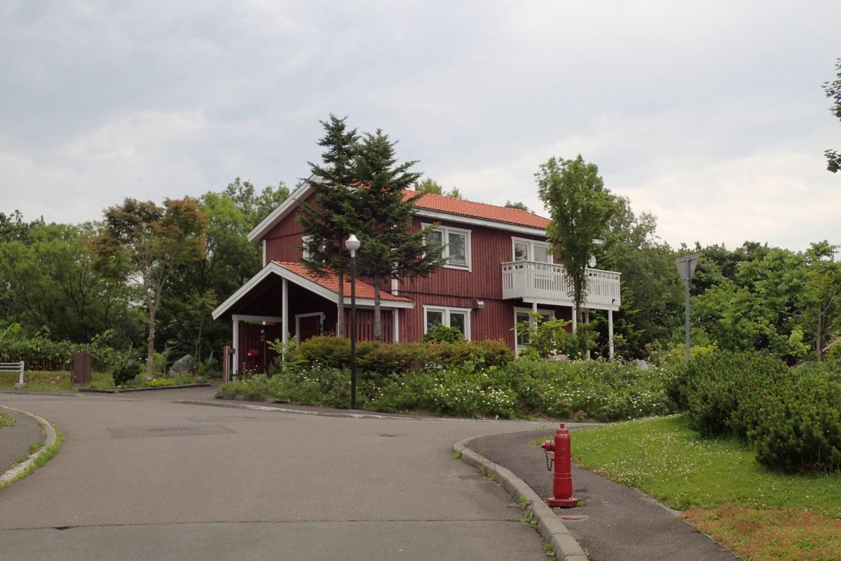 Casa d'aparença típica sueca