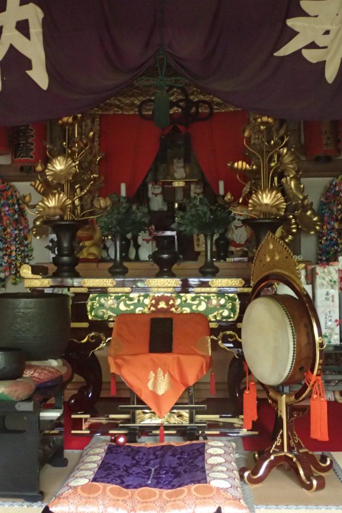 Altar del temple de Gotokuji