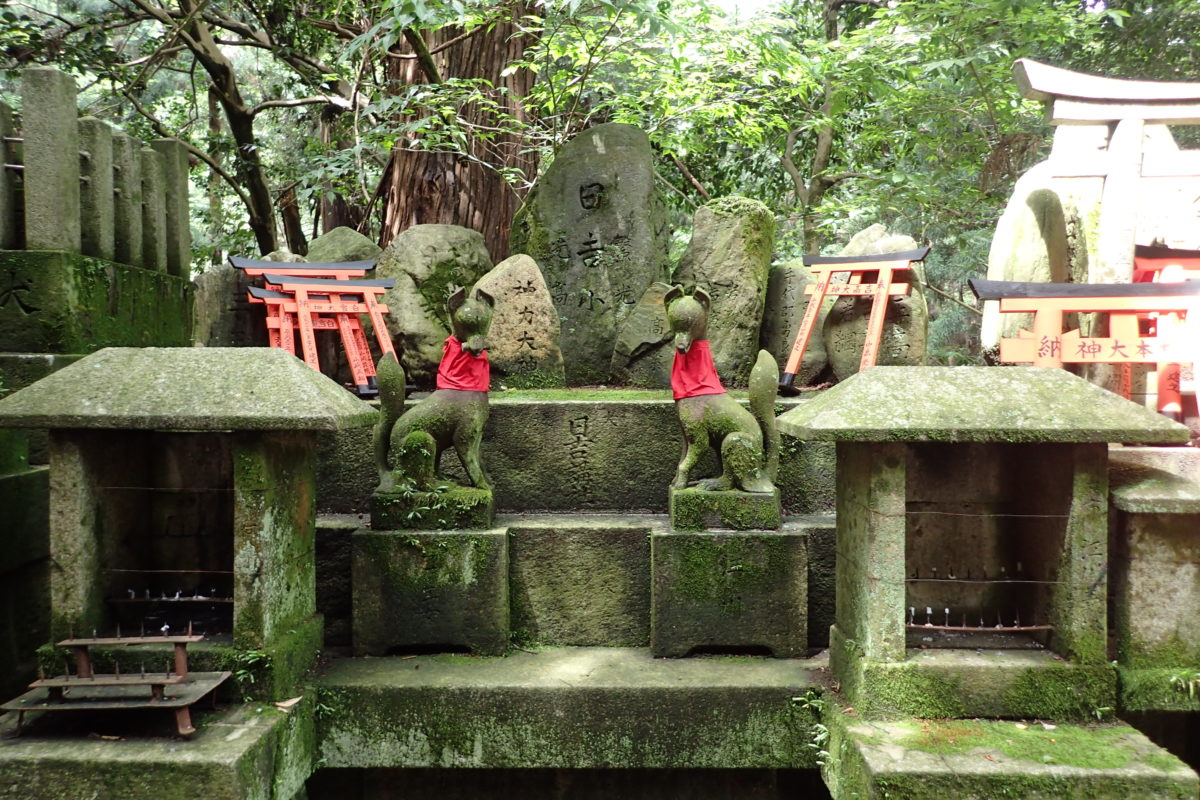 Altar amb dues deïtats