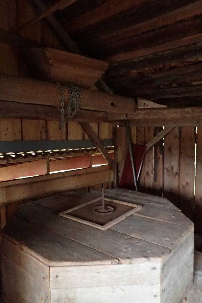 Interior del molí