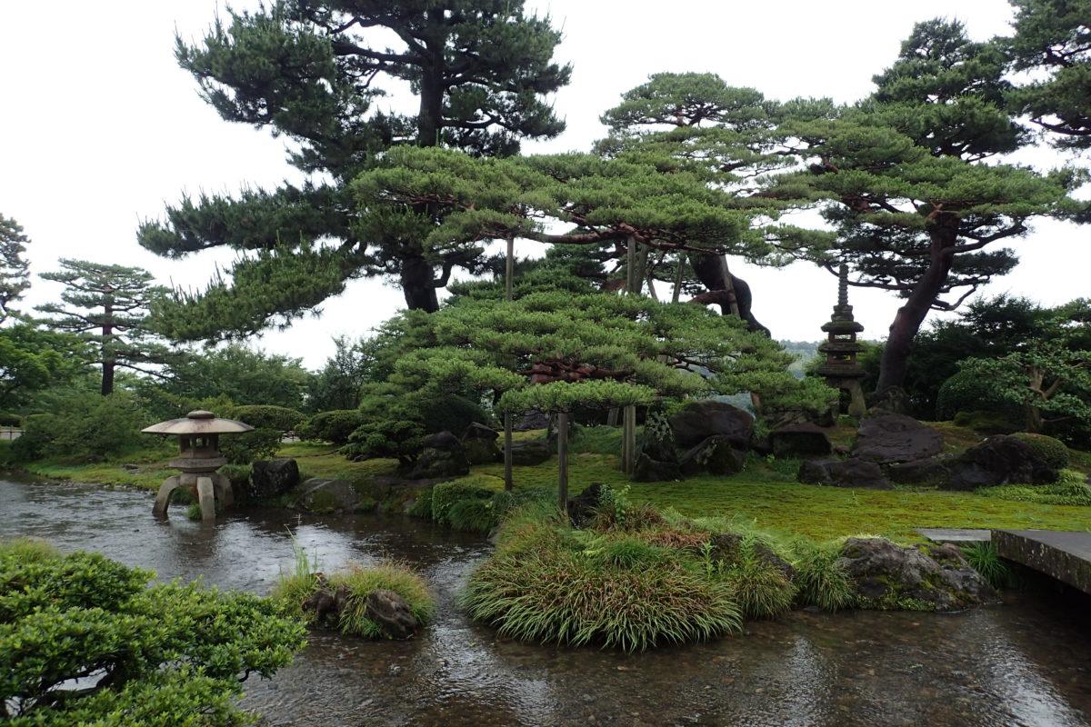 Vista del parc de Kanazawa