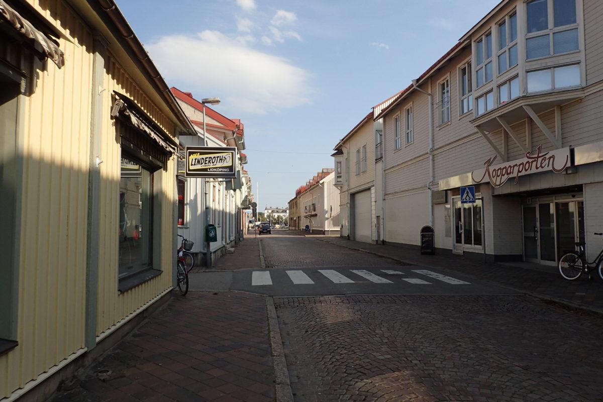Carrer de Lidköping, desèrtic