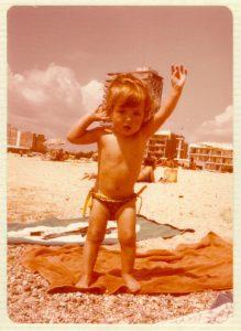 A la platja de Palamós, versió instagramejada pel pas del temps
